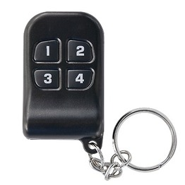 4 Channels Key chain Transmitter for Universal Receiver