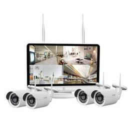 4CH 12-Inch LCD NVR COMBO